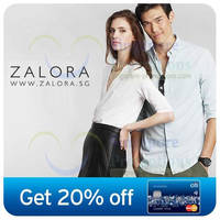 Read more about Zalora 20% OFF Coupon Codes (NO Min Spend) For Citibank Cardmembers 3 - 30 Jun 2014