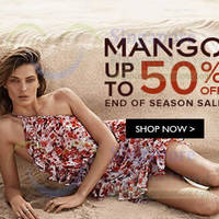 Read more about Mango End of Season SALE 12 Jun 2014