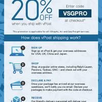 Read more about vPost: Ship to Singapore & Get 20% Off 16 Jun - 16 Jul 2014