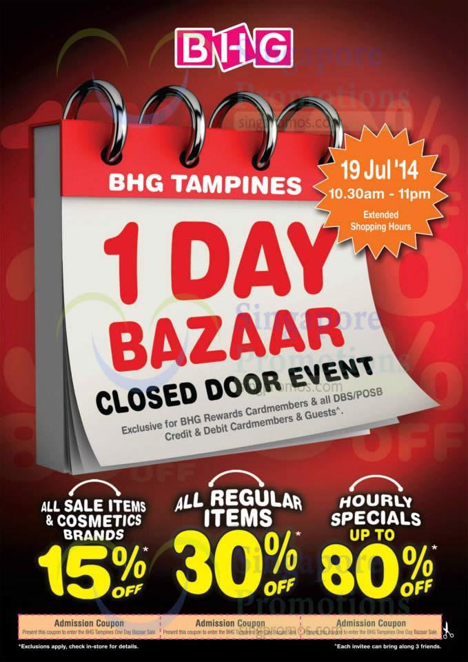 1 Day Bazaar Sale Highlights, Discounts