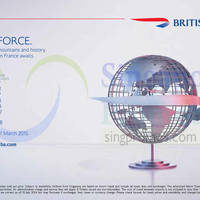 Read more about British Airways Promotion Air Fares 10 - 31 Jul 2014