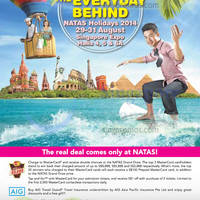 Read more about NATAS Fair 2014 (Aug 2014) Travel Fair @ Singapore Expo 29 - 31 Aug 2014