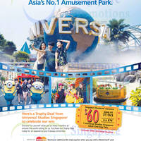 Read more about Universal Studios $60 1-Day Pass With FREE $10 Meal Voucher 24 Jul - 21 Oct 2014