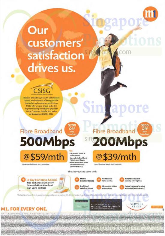 200Mbps Fibre Broadband, 500Mbps Fibre Broadband
