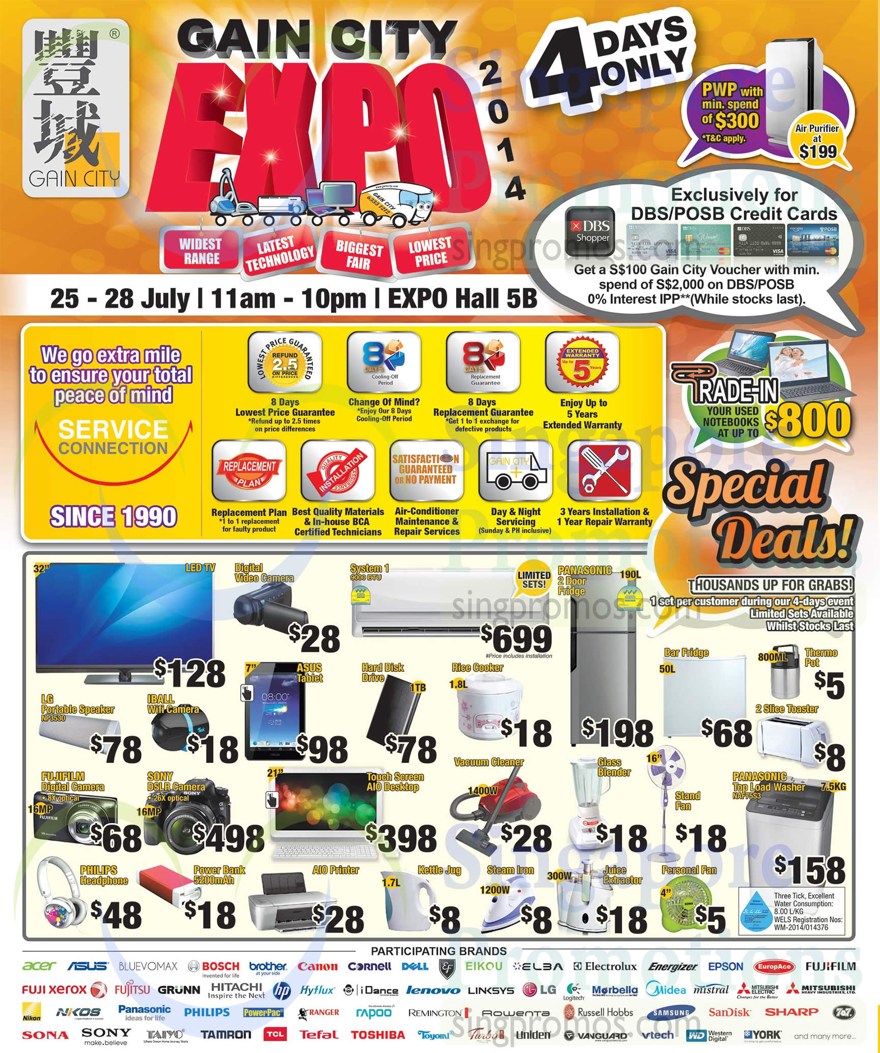 Kitchen Appliances Singapore 25 Jul Special Deals Notebooks Trade In Participating Brands