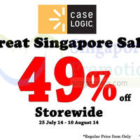 Read more about Caselogic & The Headphones Gallery Up To 49% OFF Storewide Promo 25 Jul - 10 Aug 2014