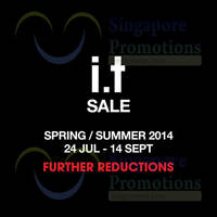 Read more about I.T Labels SALE (Further Reductions!) 24 Jul - 14 Sep 2014