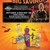 Read more about 7-Eleven Buy Fanta & Save $60 Off USS Halloween Horror Nights 25 Jul - 23 Oct 2014