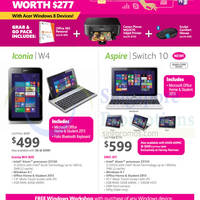 Read more about Acer Iconia W4 Tablet & Switch Notebook Offers 16 Jul 2014