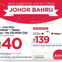 Read more about Air Asia Flies From JB To Tokyo From 22 Nov 2014