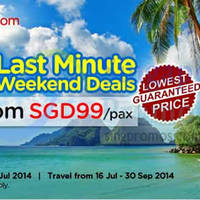 Read more about Air Asia Go 50% OFF Last Minute Weekend Deals 14 - 20 Jul 2014