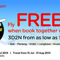 Read more about Air Asia Go Book a Hotel & Get FREE Flights 7 - 13 Jul 2014