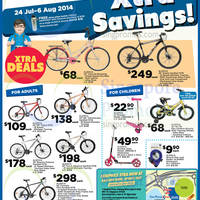 Read more about NTUC Fairprice Aleoca Bicycles & Panasonic / Elpa Bulbs Offers 24 Jul - 6 Aug 2014
