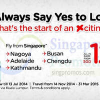 Read more about Air Asia New Promo Air Fares 7 - 13 Jul 2014