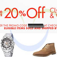 Read more about Amazon.com 20% OFF Fashion, Shoes & Watches Coupon Code 24 Jul - 2 Aug 2014
