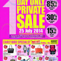 Read more about BHG Bugis 1 Day Private Sale 25 Jul 2014