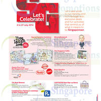 Read more about Bukit Panjang Plaza & Lot 1 Let's Celebrate Promotions & Activities 4 - 27 Jul 2014