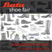 Read more about Bata Shoe Fair @ Anchorpoint 21 Jul - 3 Aug 2014