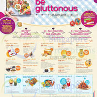 Read more about Bedok Mall Be Gluttonous Promotions 1 - 31 Jul 2014