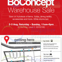 Read more about Crate & Barrel, CB2 & BoConcept Warehouse Sale 2 - 3 Aug 2014