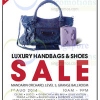 Read more about Brandsfever Handbags & Footwear Sale @ Mandarin Orchard 1 Aug 2014
