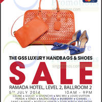 Read more about Brandsfever Handbags & Footwear Sale @ Ramada Hotel 5 Jul 2014