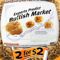Read more about Breadtalk 2 for $2 Selected Items One Day Promotion 2 Jul 2014