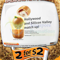 Read more about Breadtalk 2 for $2 Selected Items One Day Promotion 6 Jul 2014