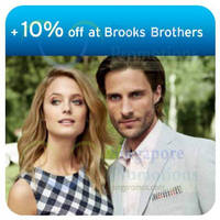 Read more about Brooks Brothers 10% OFF Sale Items For Citibank Cardmembers 9 - 28 Jul 2014