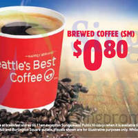 Read more about Burger King 80 Cents Brewed Coffee 16 Jul 2014