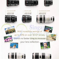 Read more about Canon Lenses Promo Offers 31 Jul 2014