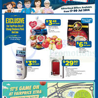 Read more about NTUC Fairprice Electronics, Groceries, Home Appliances & Wines 17 - 30 Jul 2014
