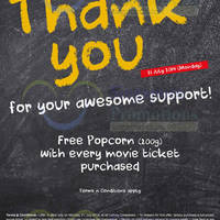 Read more about Cathay Cineplexes Buy Movie Ticket & Get FREE Popcorn 21 Jul 2014