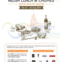 Read more about Chijmes Spend $30 & Get $10 Voucher Lunch Promotion 30 Jul - 22 Aug 2014