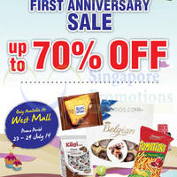 Choc Spot Up To 70% OFF @ West Mall 23 - 29 Jul 2014