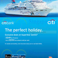 Read more about Star Cruises $49 For 2nd Person For Citibank Cardmembers 31 Jul 2014