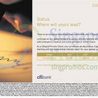 Read more about Citibank Citigold Preferential Interest Rates 22 Jul 2014