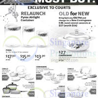 Read more about Courts Megastore Pyrex, Corningware & Corelle Offers 3 Jul 2014