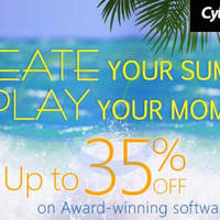 Read more about Cyberlink Software Up To 30% OFF Summer Sale 18 Jul - 5 Aug 2014
