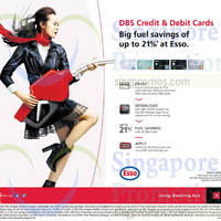 Read more about Esso Up To 21% OFF For DBS Cardmembers 1 Jul 2014