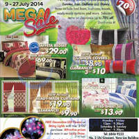 Read more about Decotex Mega Sale 9 - 27 Jul 2014