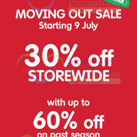 Read more about Early Learning Centre 30% OFF Moving Out SALE (Final Reductions) @ Great World City 9 - 25 Jul 2014