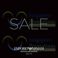 Read more about Emporio Armani SALE @ VivoCity 4 Jul 2014