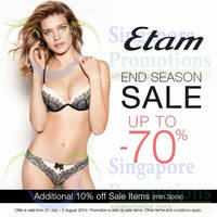 Read more about Etam 10% OFF Sale Items Promo 31 Jul - 3 Aug 2014