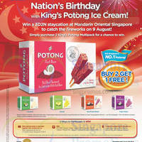 Read more about F&N Buy 2 Get 1 Free King's Potong Multipack 16 Jul 2014