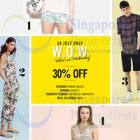 Read more about Topshop, Topman, Dorothy Perkins & Miss Selfridge 30% OFF Promo 16 Jul 2014