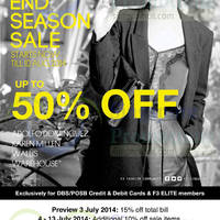 Read more about Fashion Fast Forward Star & Elite End of Season SALE (Further Reductions!) 3 Jul - 10 Aug 2014