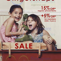 Read more about Gingersnaps 15% OFF Storewide Promo 18 - 28 Jul 2014