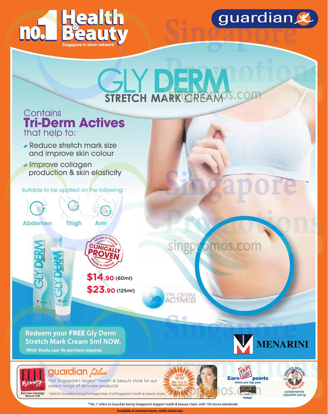 Glyderm Stretch Mark Cream