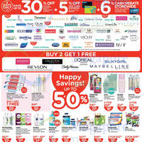 Read more about Watsons Personal Care, Health, Cosmetics & Beauty Offers 17 - 23 Jul 2014
